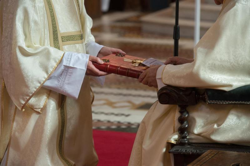 Diaconate Ordination Mass for Jakub Joszko and Marco Salvagnini