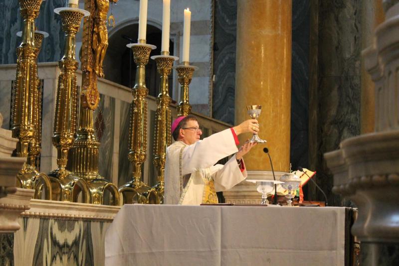 Homily for Walsingham Pilgrimage Mass 2021