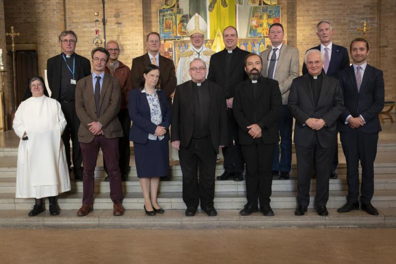 Teaching staff profess Faith and take Oath of Fidelity at Mater Ecclesiae College