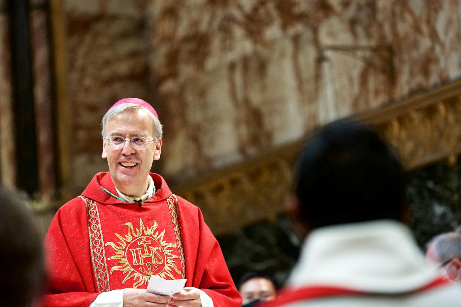 Diaconal ordination Mass of Xavier de Bénazé SJ - Diocese of Westminster