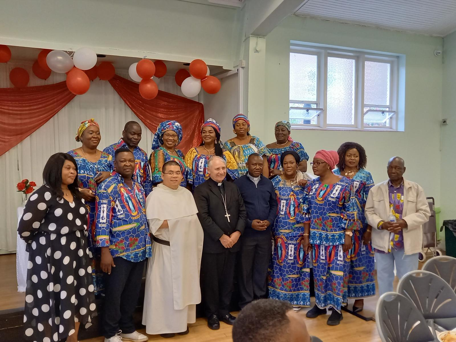 Bishop Paul celebrates centenary of the Legion of Mary