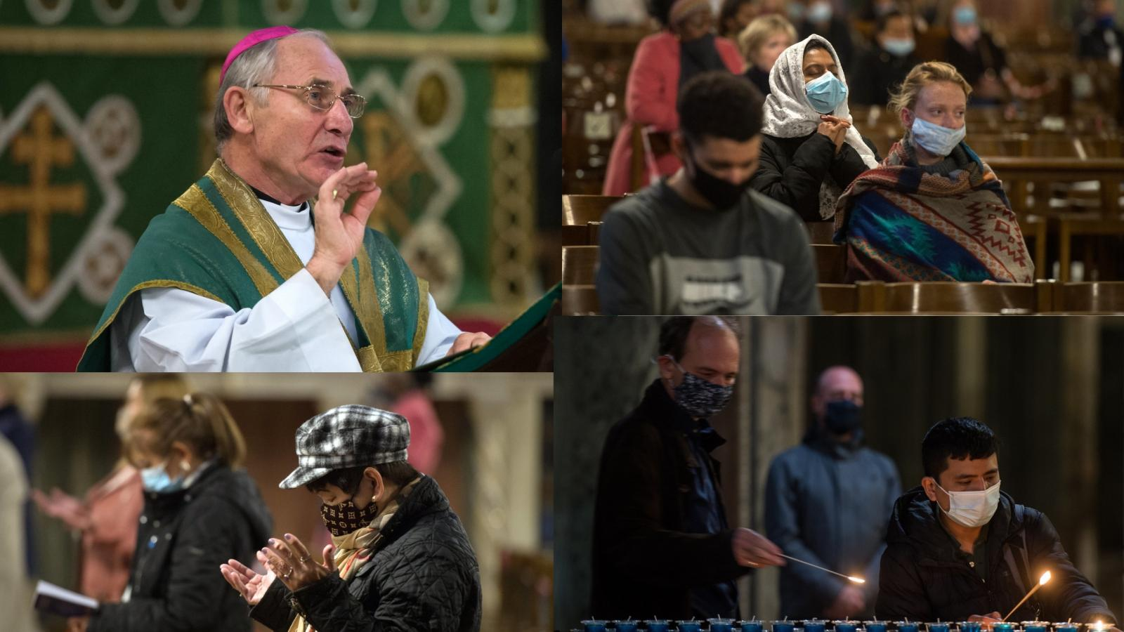 'Listen attentively to migrants and refugees,' says Bishop Paul McAleenan - Diocese of Westminster