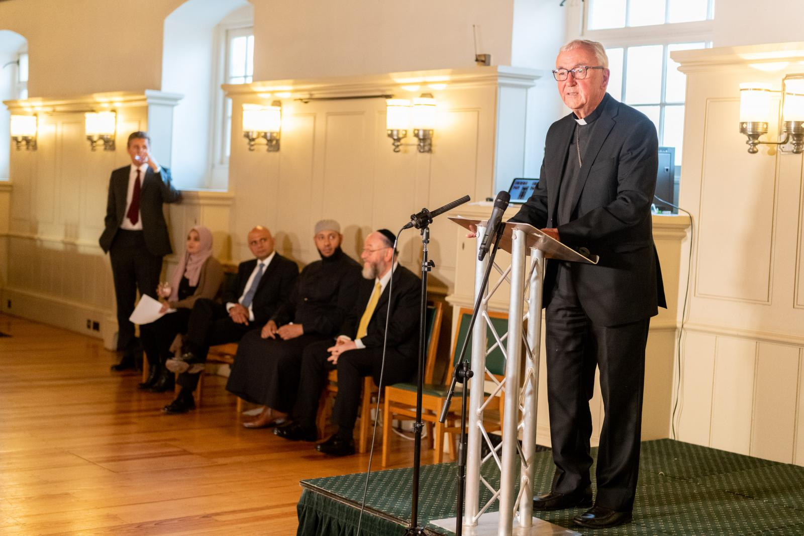 Interfaith celebration at the Tower of London organised by the Naz Legacy Foundation - Diocese of Westminster
