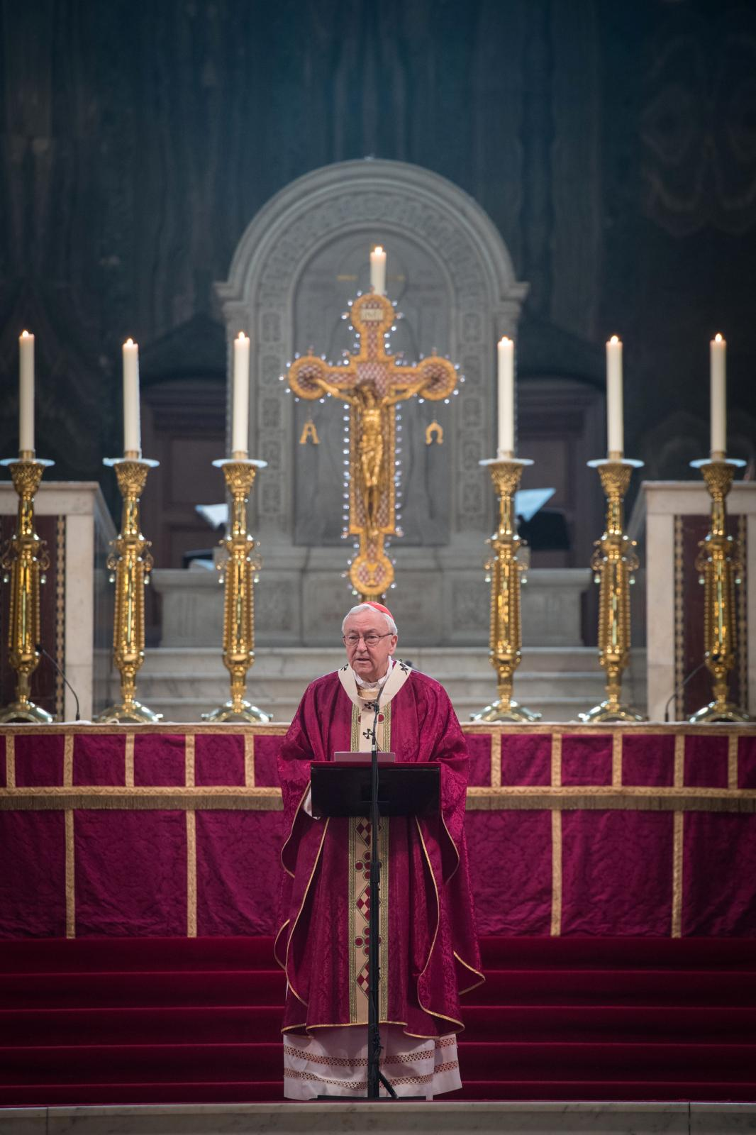 Cardinal's homily at Requiem Mass for Prince Philip