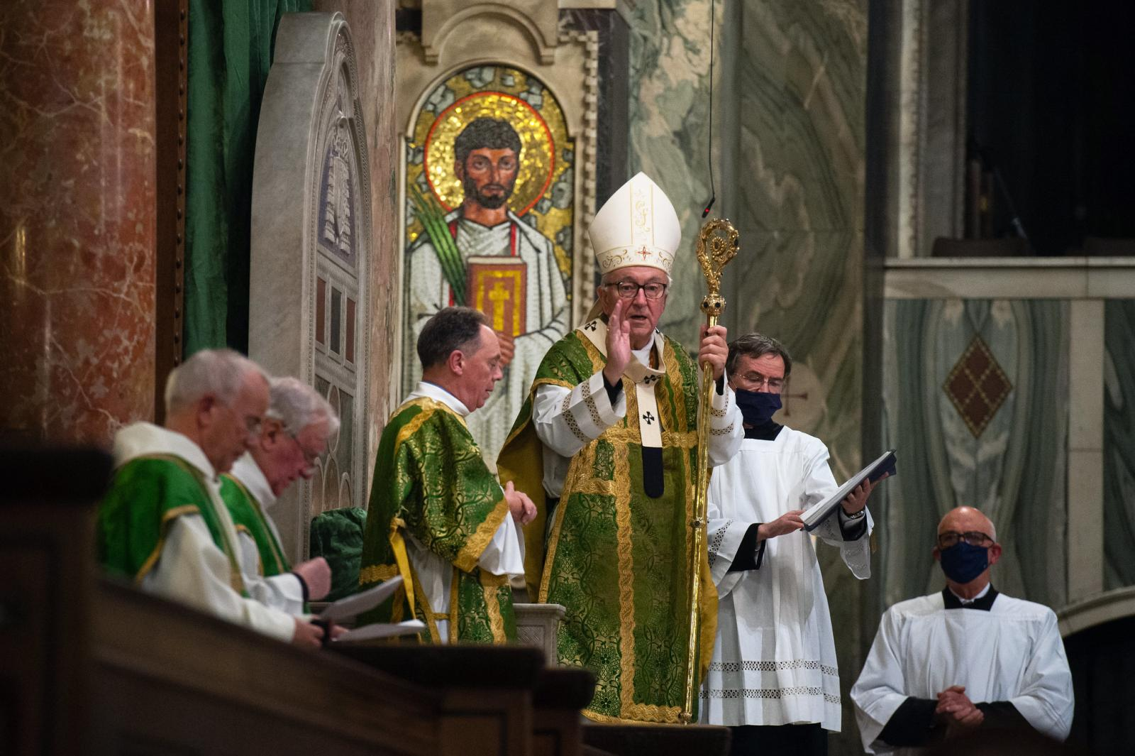 Cardinal's homily for the opening Mass for the diocesan phase of the synodal pathway