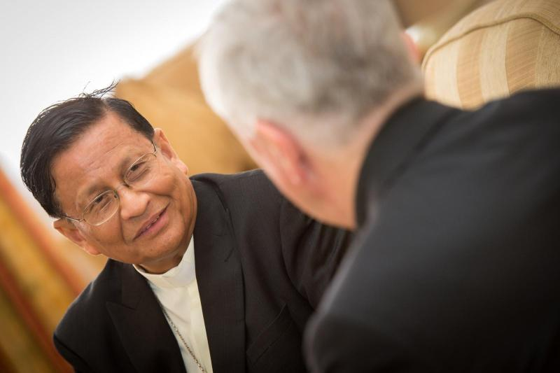 Prayerful support for Cardinal Bo's call for nonviolence, democracy and dialogue
