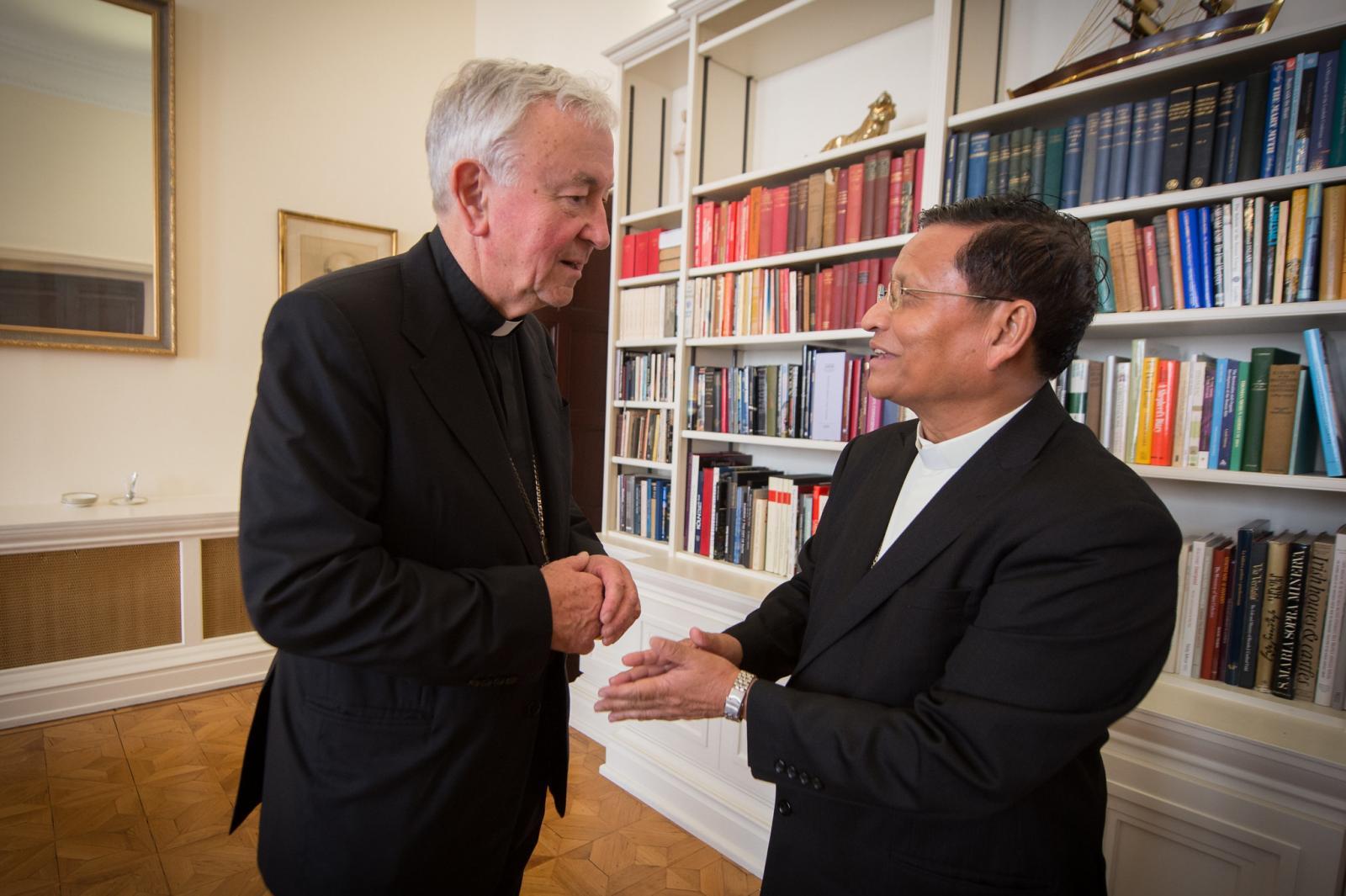 Cardinal prays for people of Myanmar - Diocese of Westminster