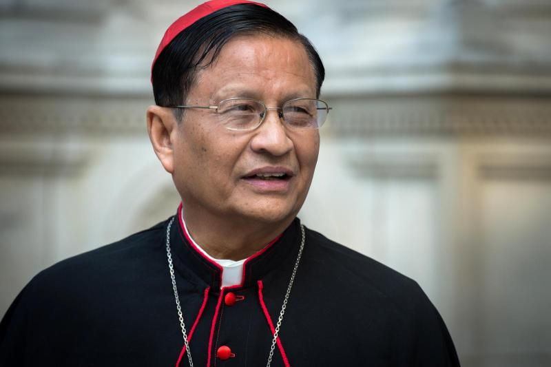 Cardinal Bo calls for 'fasting from anger'