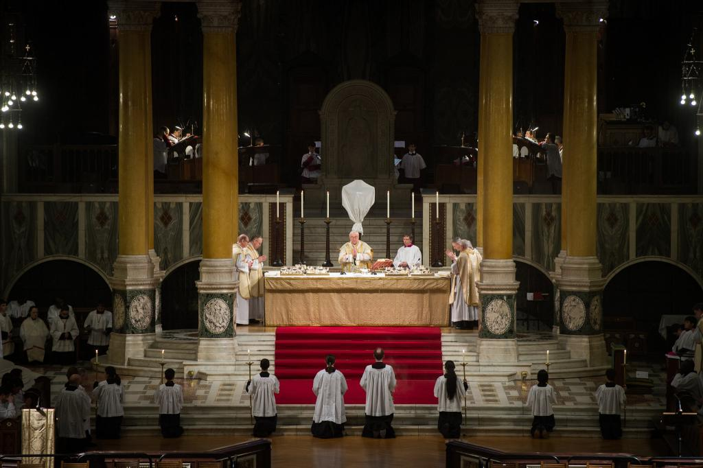 Mass of the Lord's Supper 2019 Homily - Diocese of Westminster