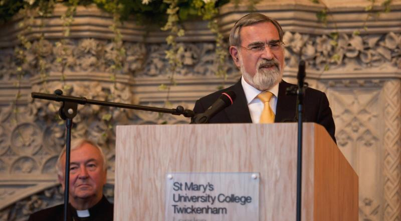 Cardinal mourns death of Rabbi Jonathan Sacks