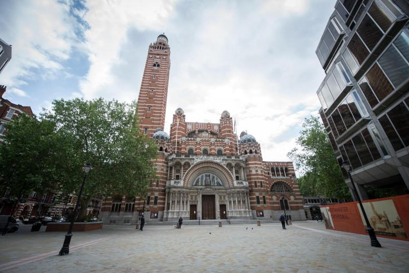 Wedding in Westminster Cathedral