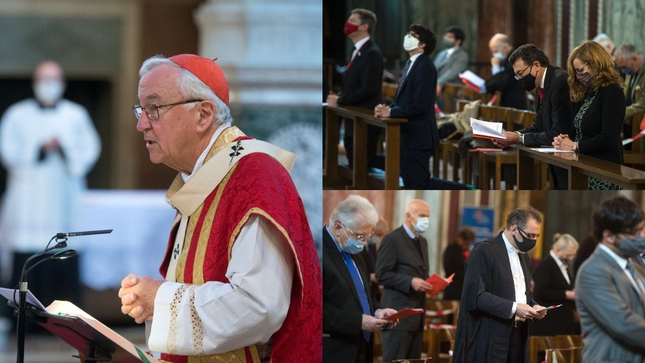 Annual Red Mass marks beginning of legal year - Diocese of Westminster