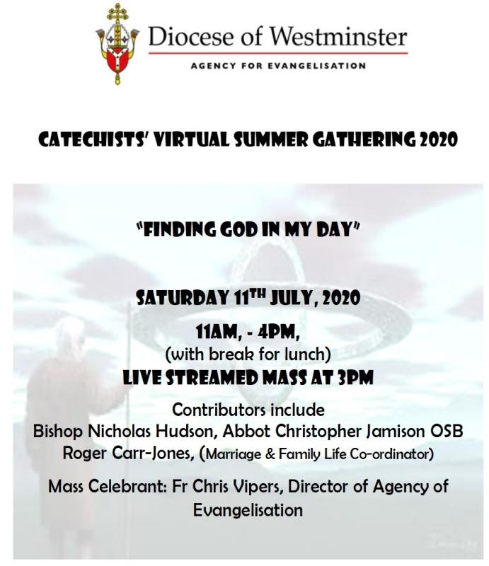 Catechists' Summer Conference 2020