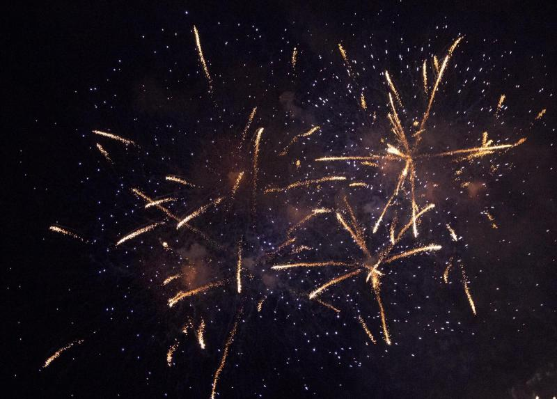 Mass for Matrimony: a firework display of colour and sound