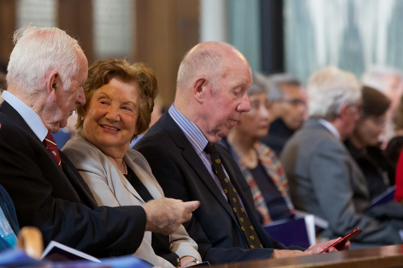 'Autumn is really the best of the seasons; and I'm not sure that old age isn't the best part of life.' - Diocese of Westminster