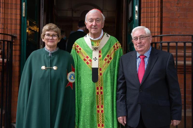 Papal honours for Chiswick parishioners