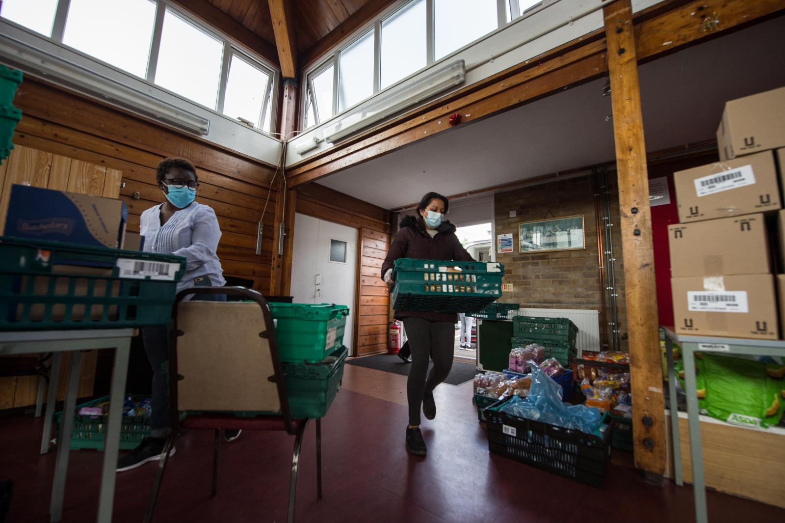 Caritas Westminster warns of increased demand on food banks if Government cuts Universal Credit - Diocese of Westminster