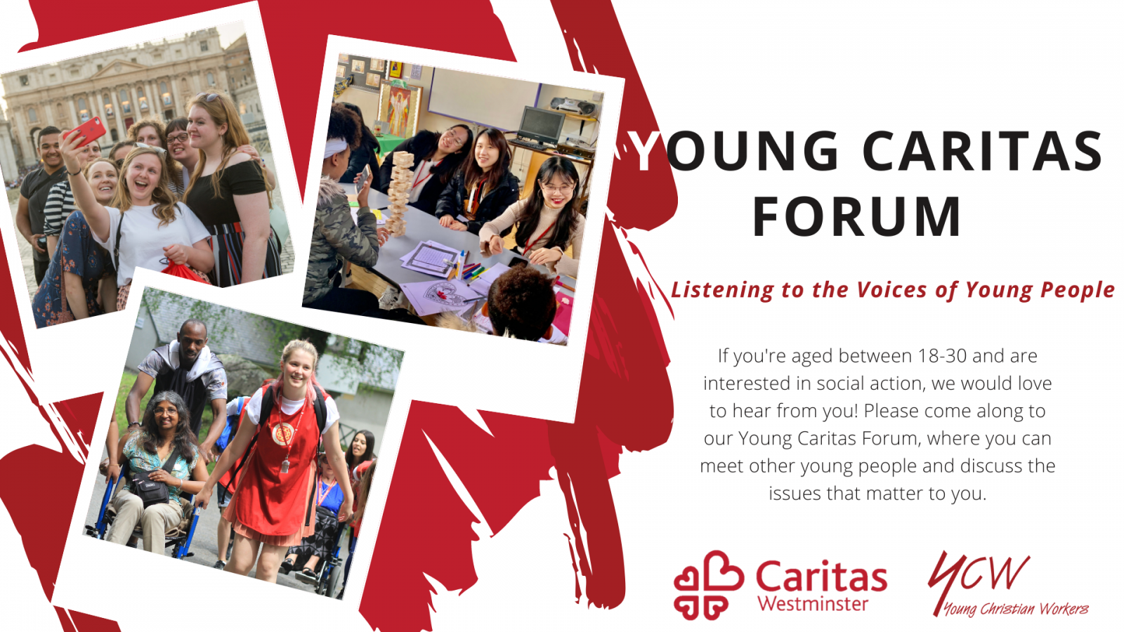 Caritas Westminster launches Young Caritas Forum - Diocese of Westminster