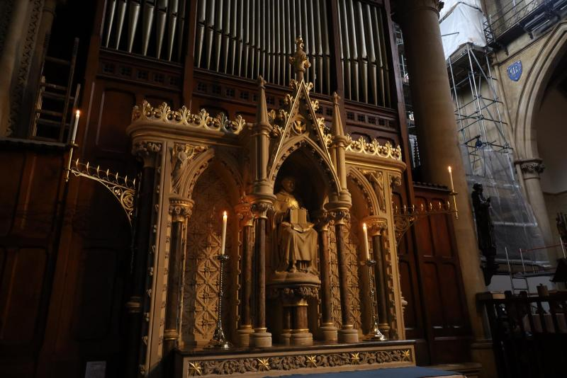 Aquinas Altar Restored for 800th Anniversary of English Dominicans