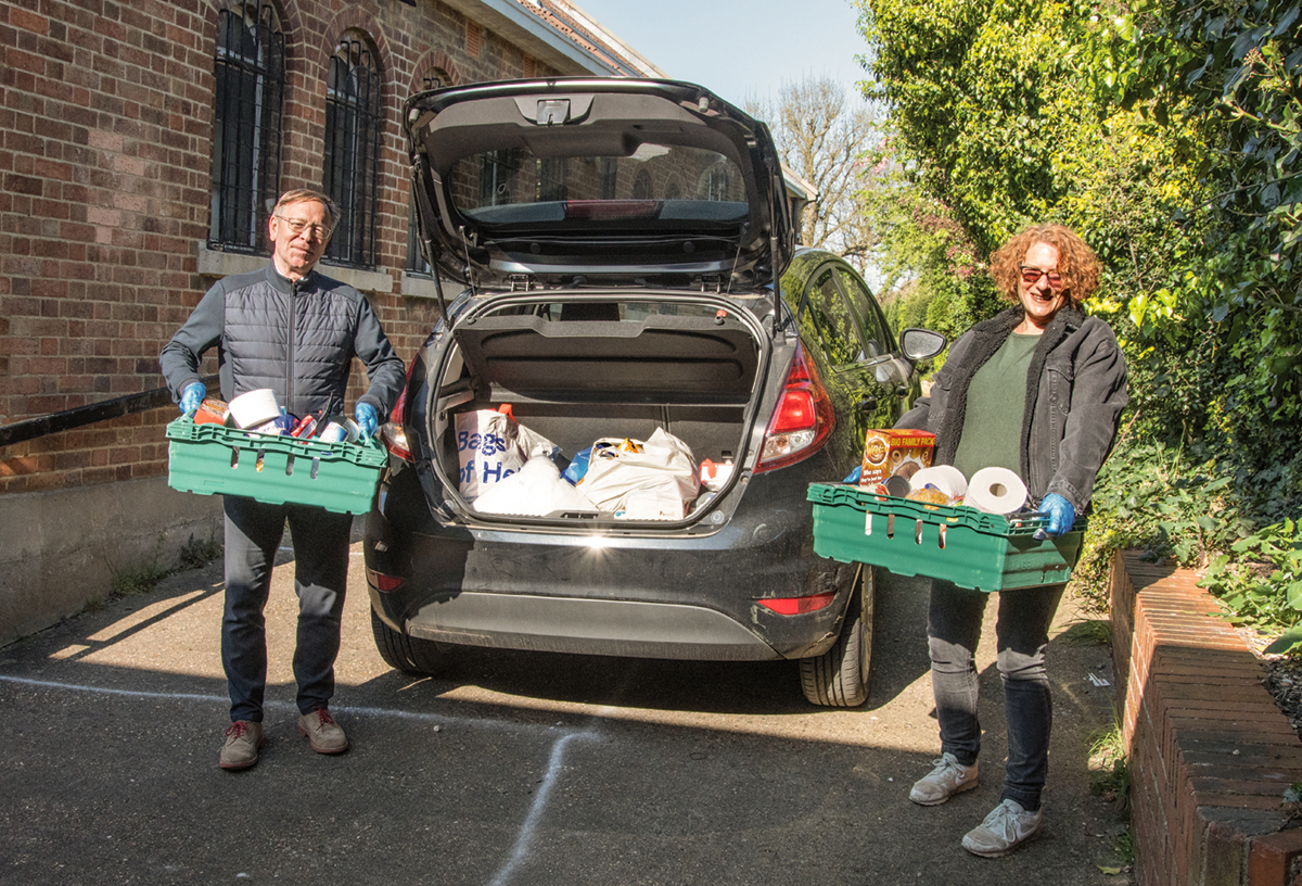 Finchley Foodbank continues tackling food poverty one year into pandemic - Diocese of Westminster