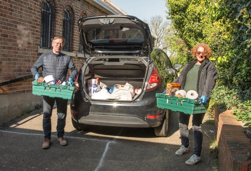 Finchley Foodbank continues tackling food poverty one year into pandemic