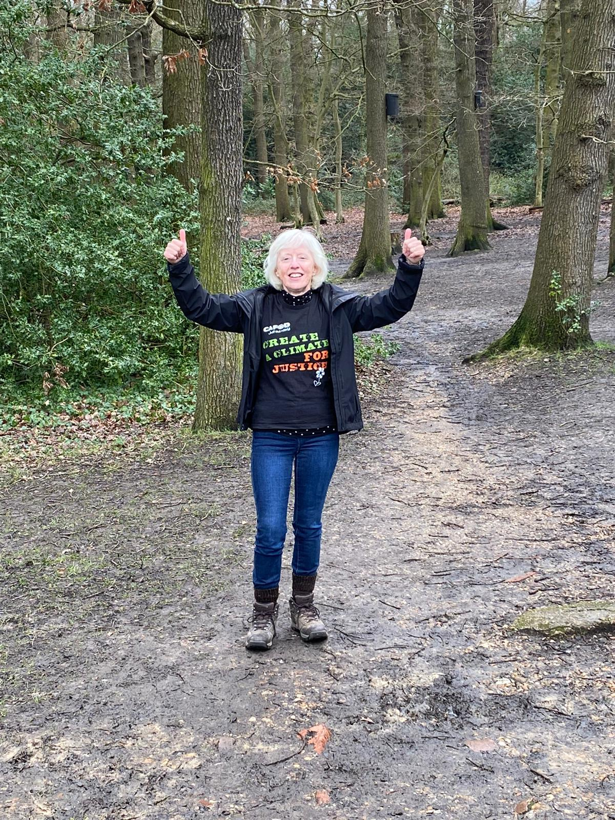Enfield parishioner joins CAFOD in walking for water - Diocese of Westminster