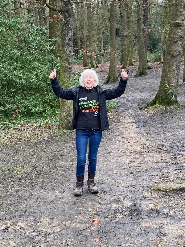 Enfield parishioner joins CAFOD in walking for water