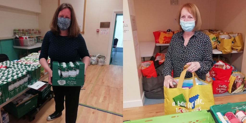 Finchley Foodbank volunteers receive social outreach award - Diocese of Westminster