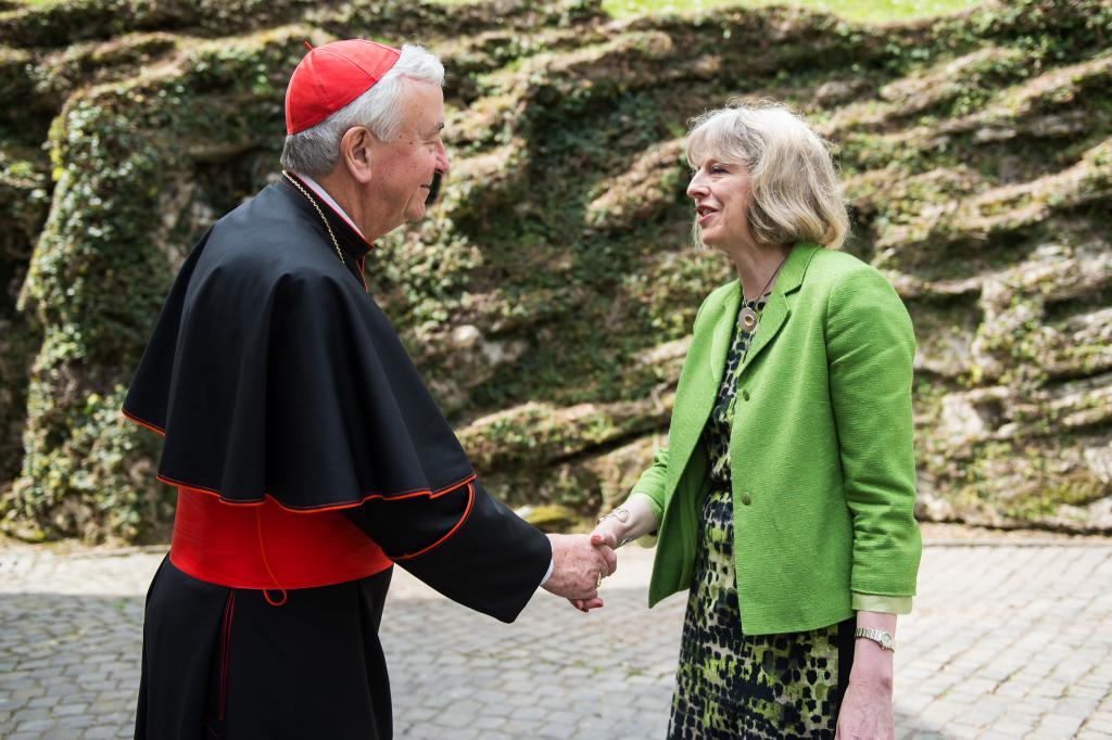 Cardinal Vincent Offers Support and Prayers for Theresa May - Diocese of Westminster