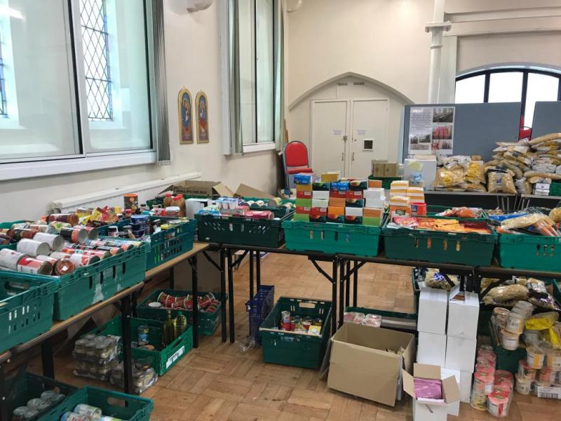 Caritas Westminster joins community groups to feed families in Hitchin