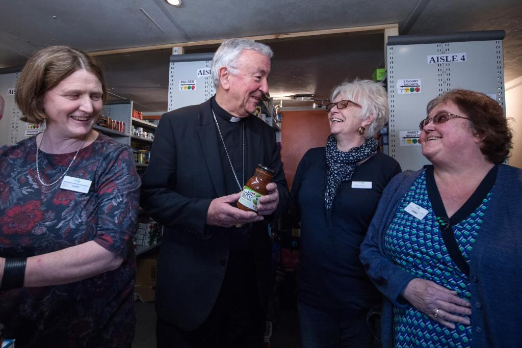 Cardinal's Lenten Appeal: Fighting Food Poverty - Diocese of Westminster