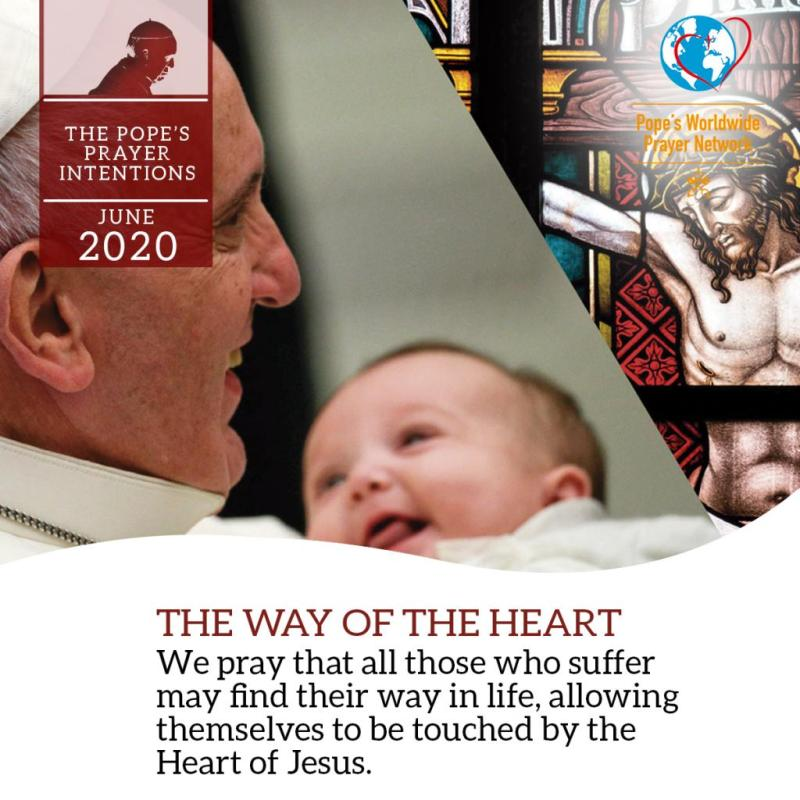 Pope's prayer intention for June: the heart of Jesus
