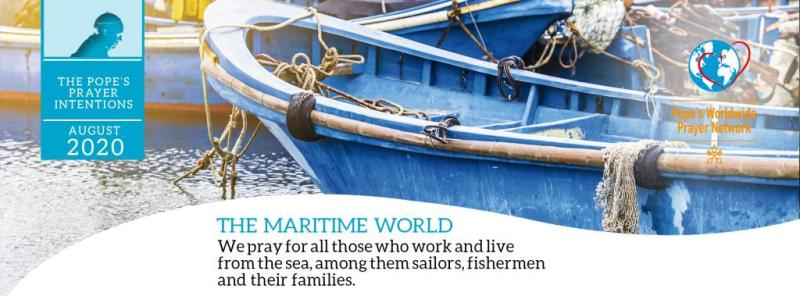 Pope's prayer intention for August: For those at sea