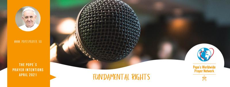 Pope's Prayer Intention for April: Fundamental Human Rights