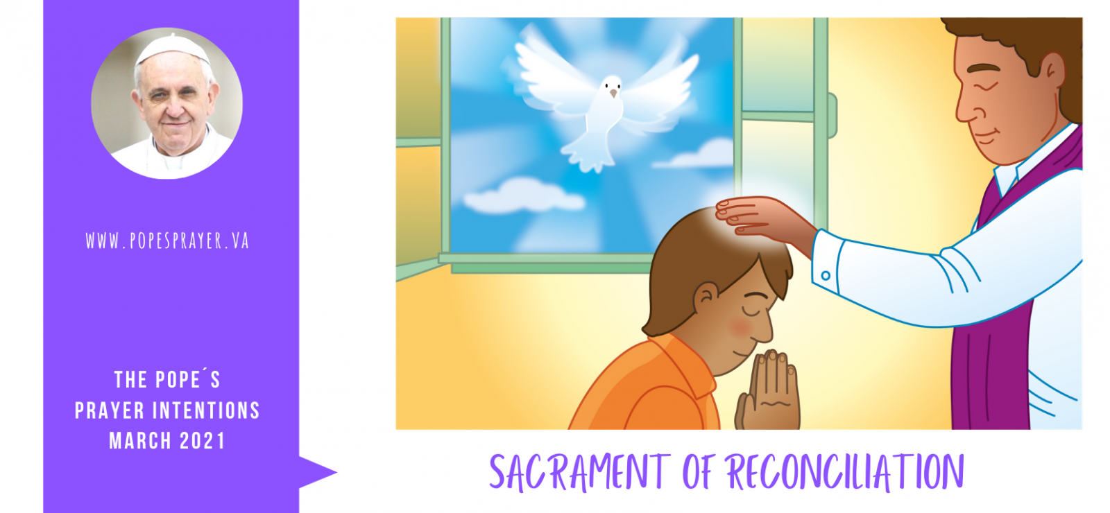 Pope's Prayer Intention for March: Sacrament of Reconciliation - Diocese of Westminster