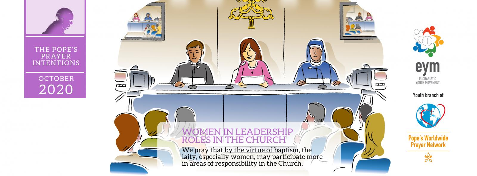 Pope's Prayer Intention for October: Women in leadership roles in the Church - Diocese of Westminster