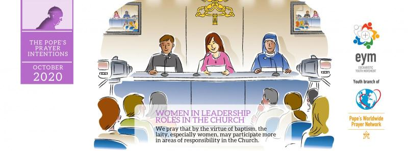 Pope's Prayer Intention for October: Women in leadership roles in the Church