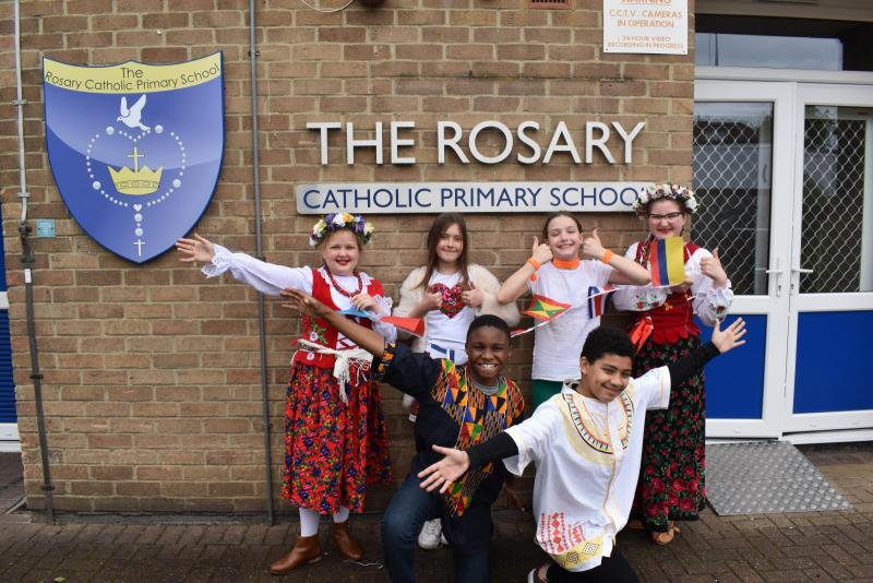 Heston pupils celebrate cultural diversity of school family