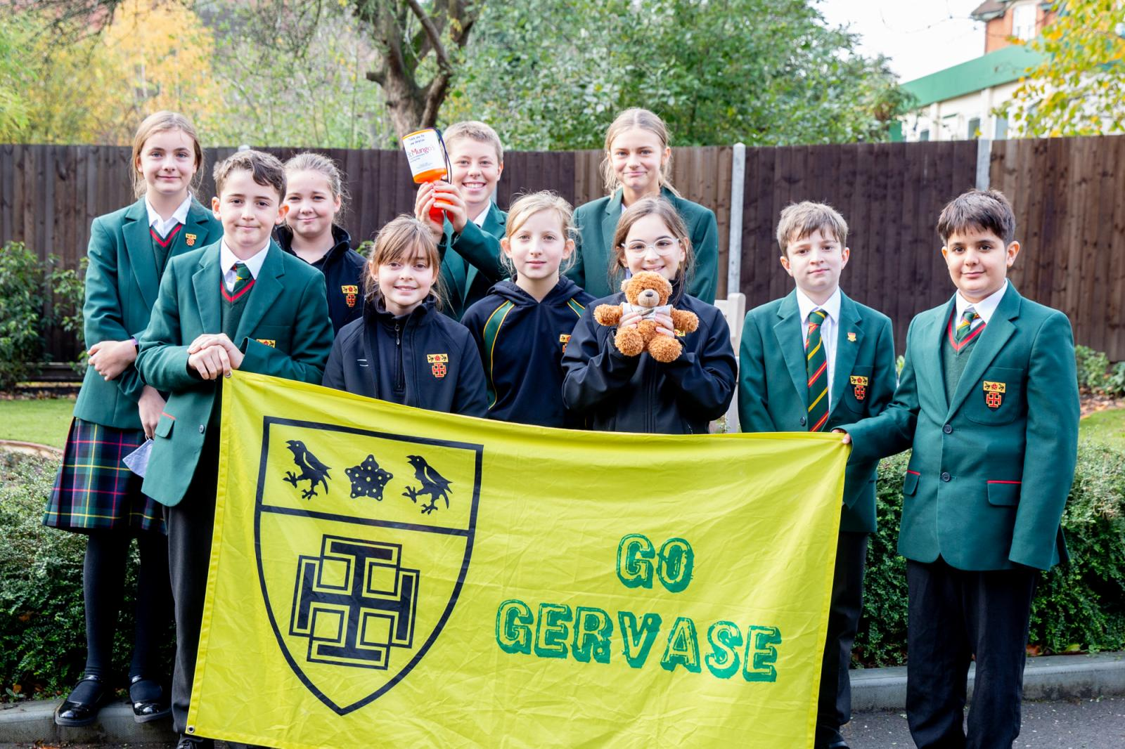 St Benedict's students raise funds to help tackle homelessness this winter - Diocese of Westminster
