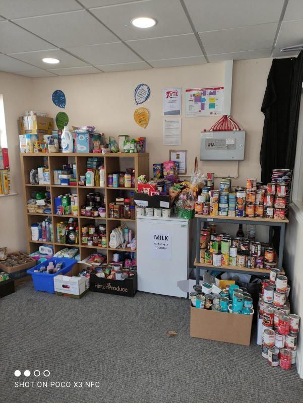 Hatfield primary school foodbank wins social outreach award