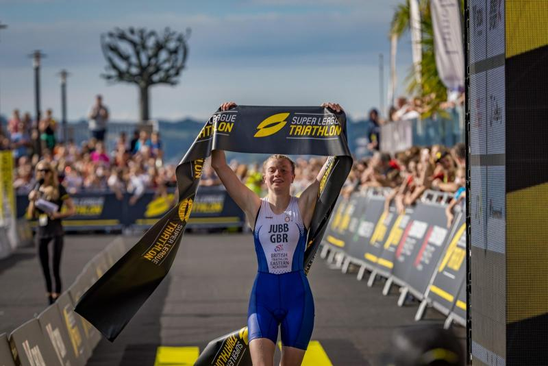 St Columba's student wins two youth triathlon titles