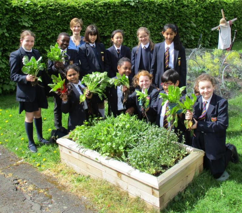 Pupils at St Gregory's, Harrow