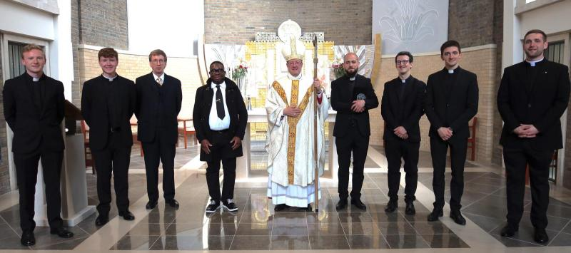 Seminarians instituted into ministry of lector and admitted to candidacy