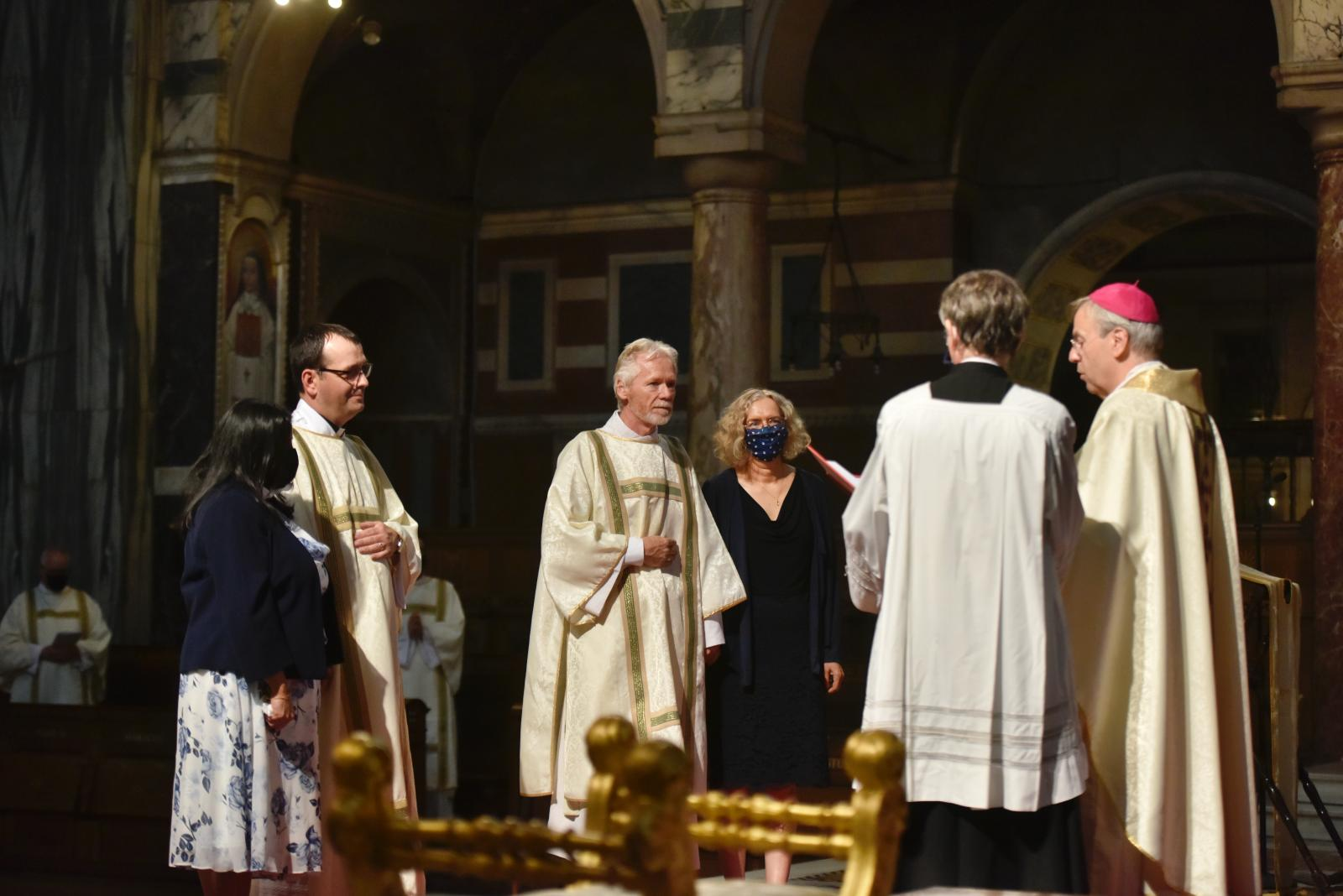 Bishop Nicholas ordains two new permanent deacons - Diocese of Westminster