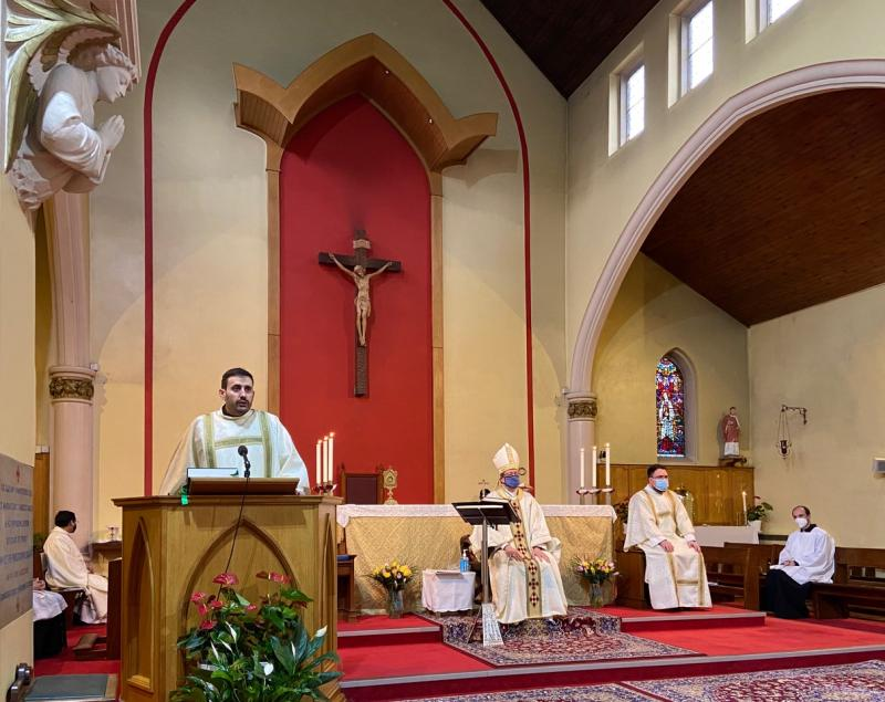 Planting the Seeds of Vocation: Deacon Marco Salvagnini