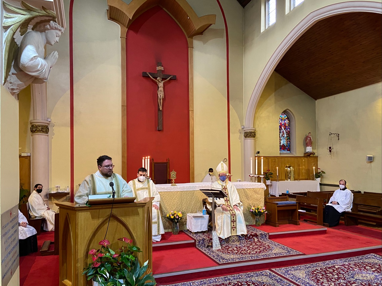 Relying on God's Love: Deacon Jakub Joszko - Diocese of Westminster