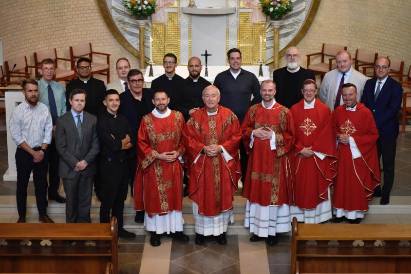 Westminster seminarians mark the start of the new academic year